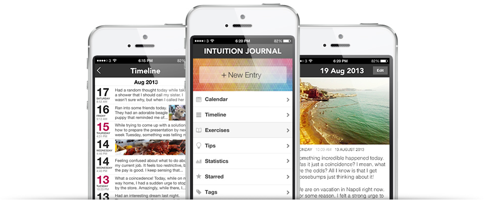 Intuition app for iphone
