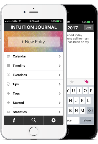 Intuition Journal - new iPhone app to strengthen your intuition